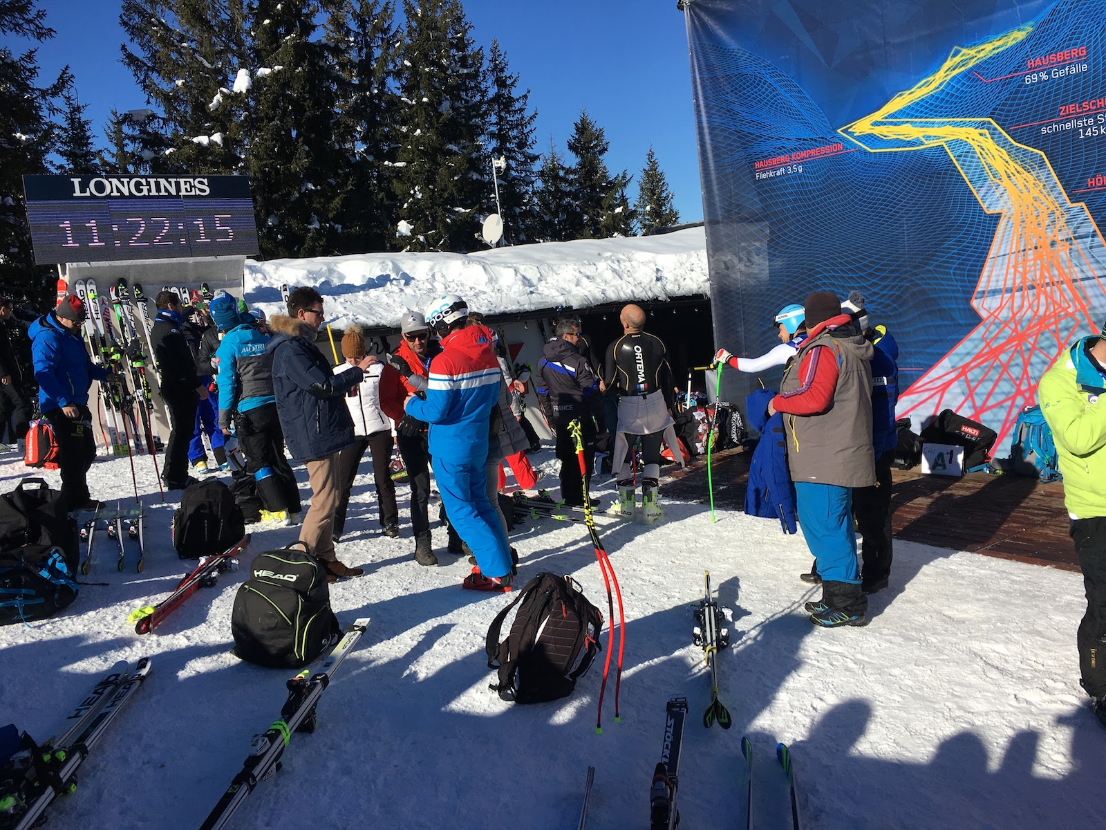 world cup kitzbuhel 2017 photo from the start