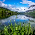 crystal clear lake bohinj