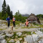 Mountain hut in the valley of the seven Triglav lakes