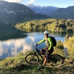 mtb at lake bohinj