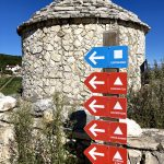 waypoints in rabac mtb trail center