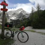 gravel bike in the julian alps