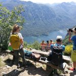 amazing viewpoint above lake bohinj