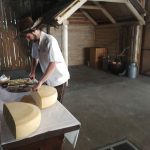 cheesemaker and bohinj cheese