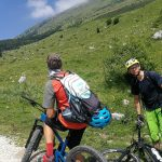 moutain bikers in soca valley