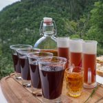 homemade schnapps from the mountains